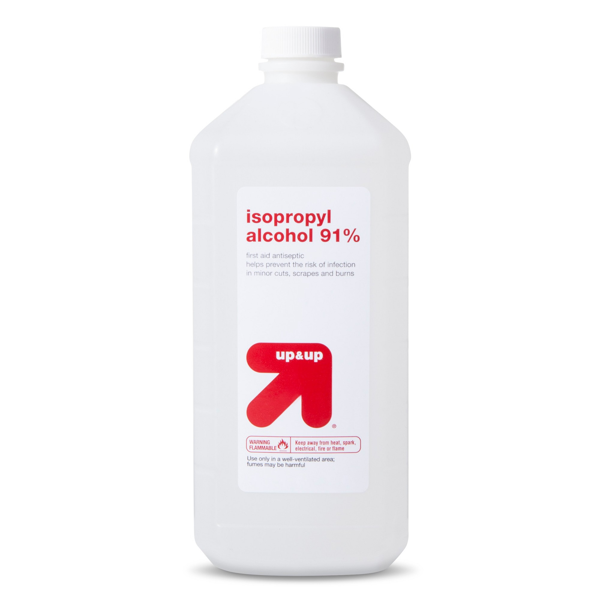 Isopropyl Alcohol 91 32oz Up Up Antiseptic Medical