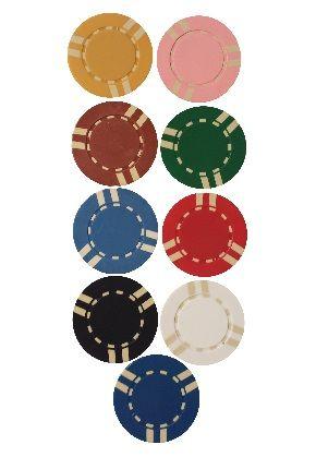 #sixstripedchip #pokerchips #gambling #lasvegas #colors #money #casino  $0.20 each www.gamblersgeneralstore.com