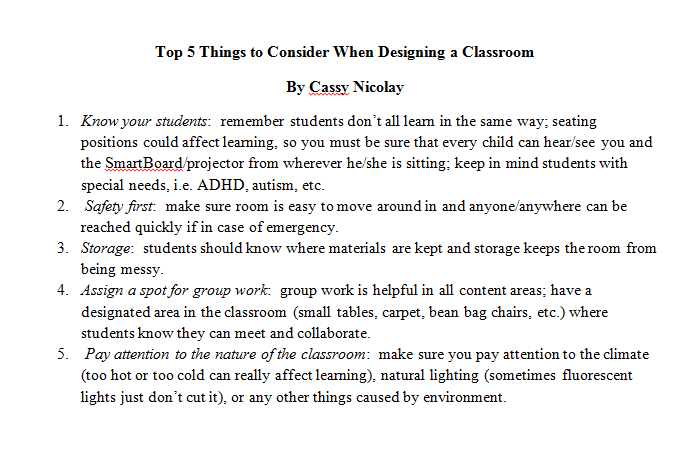 http://modernhouseinsight.com/5-important-things-to-consider-when-designing-a-children-classrooms-2011-08-26