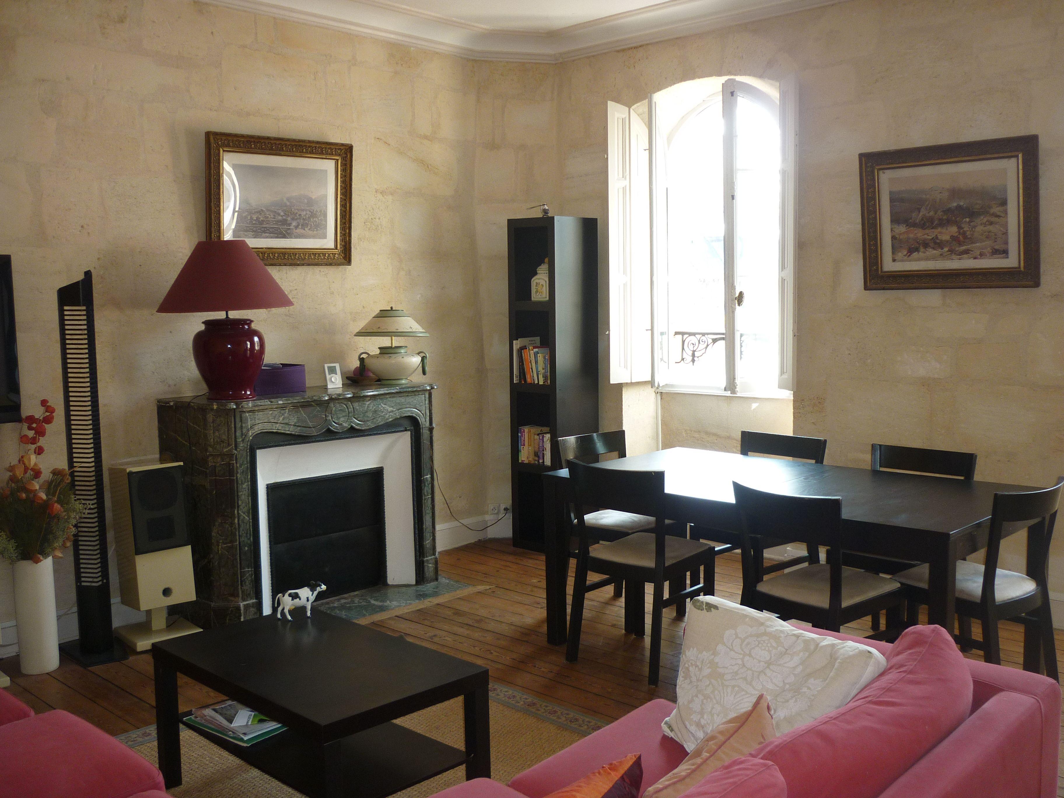 Jardin Public Belle Adresse au 3 ème étage d'un bel ...