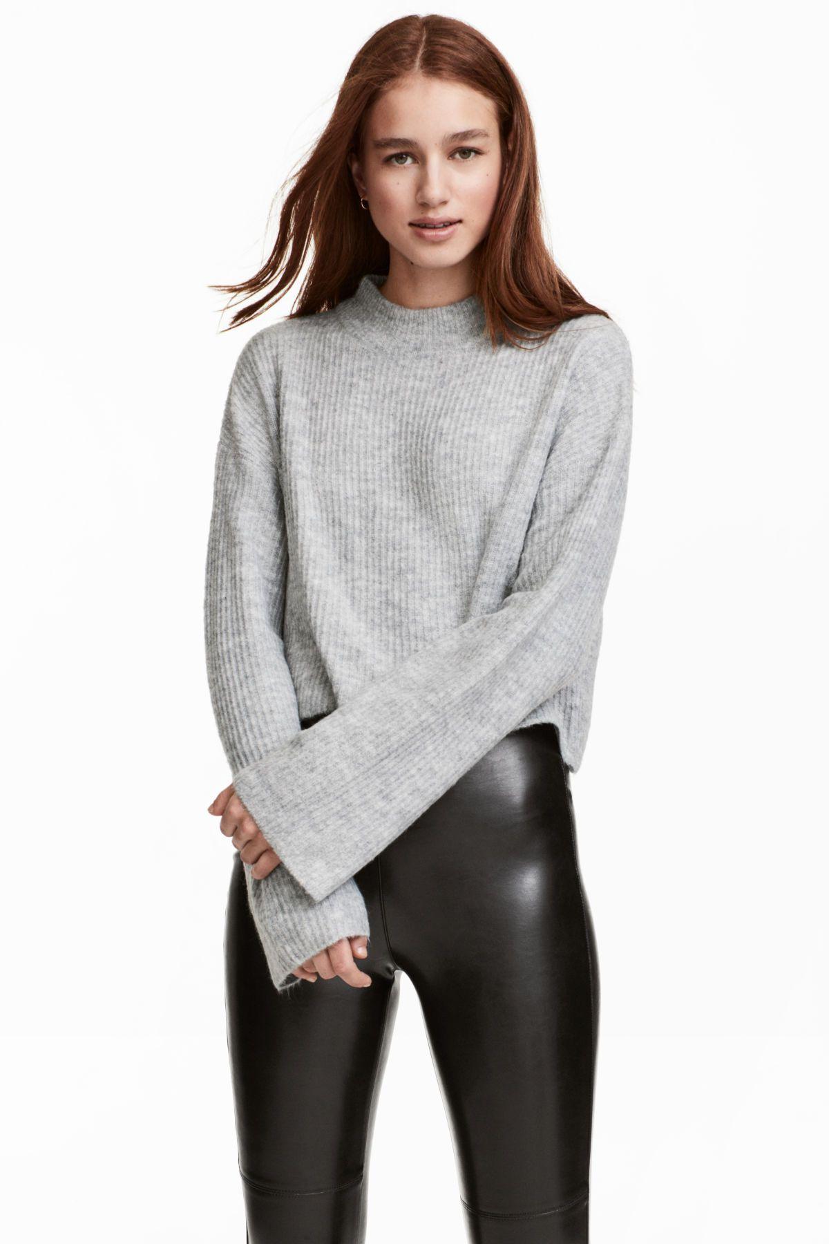 2019 year for lady- Find Shoppingfab hm rib knit sweater