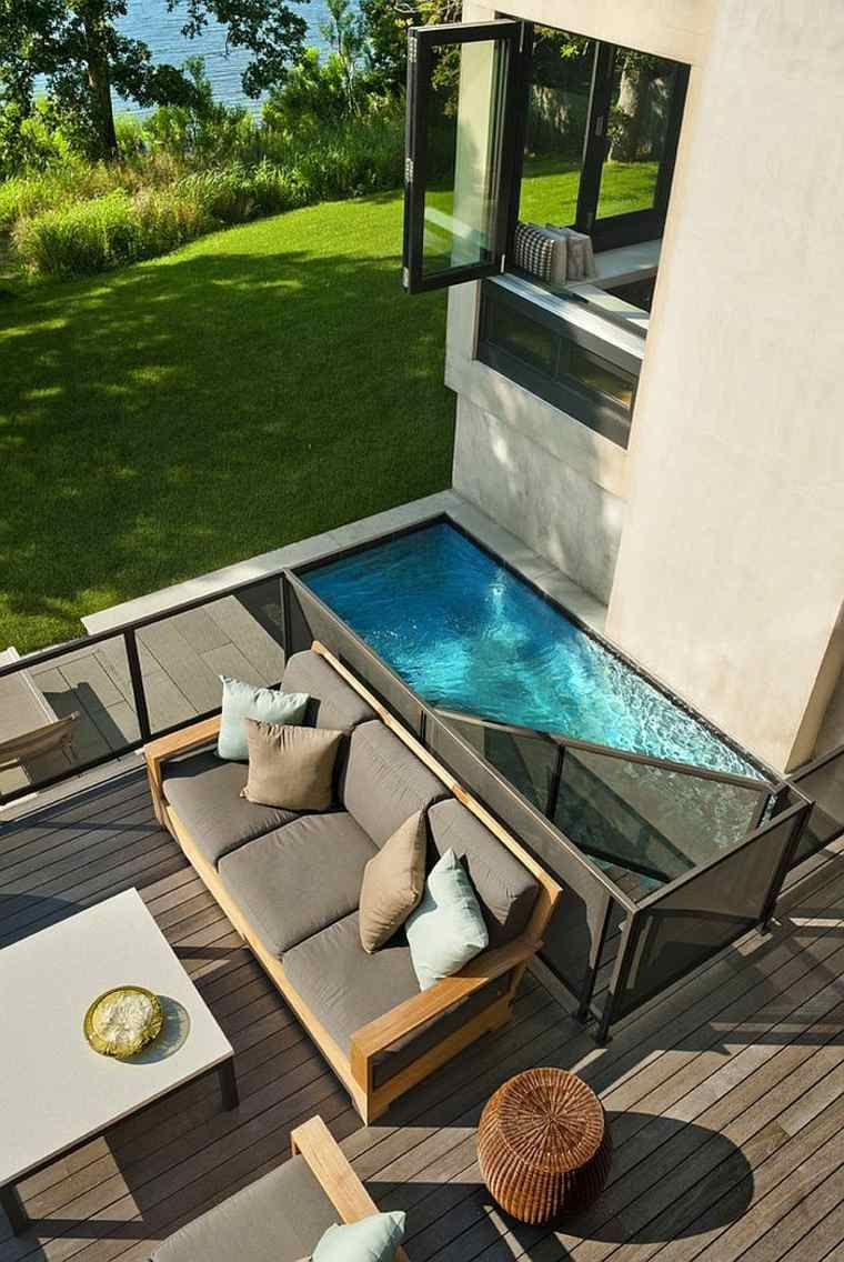 Petit jardin avec piscine pour un été rafraîchissant | 7 beautiful ...