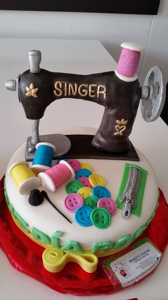 Torta maquina coser 1 Libra vainilla $150.000/COP
