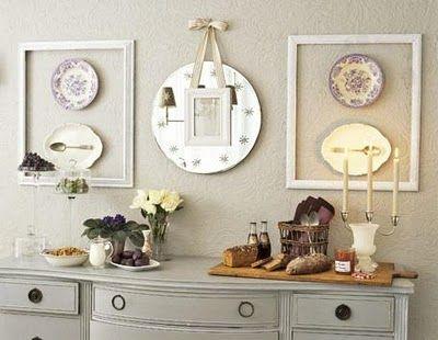 plates inside frames?? possible.