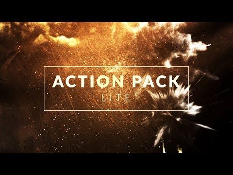Get 25 action compositing elements, usable in all major