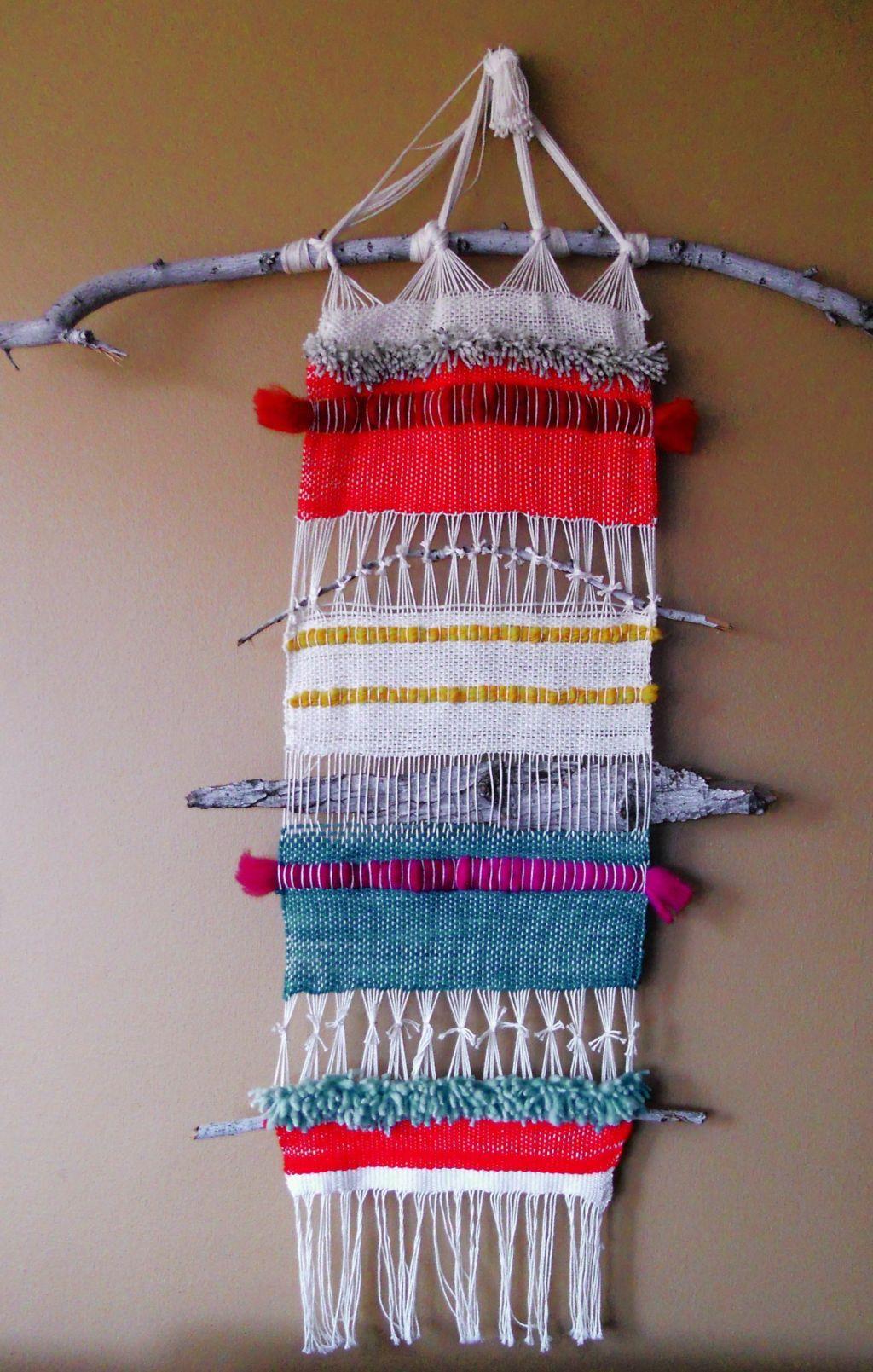 #weaving #diyweaving #weavinginspiration