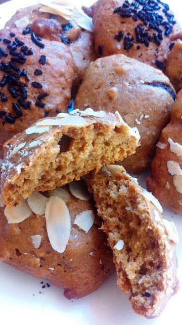 ΜΠΙΣΚΟΤΑ ΜΑΛΑΚΑ ΜΕ ΤΑΧΙΝΙ , ΜΕΛΙ ΚΑΙ ΒΡΩΜΗ Αφράτα μπισκότα με βάση το ταχίνι και το μέλι ιδανικά για περιόδους νηστείας ...και όχι μόνο!!!