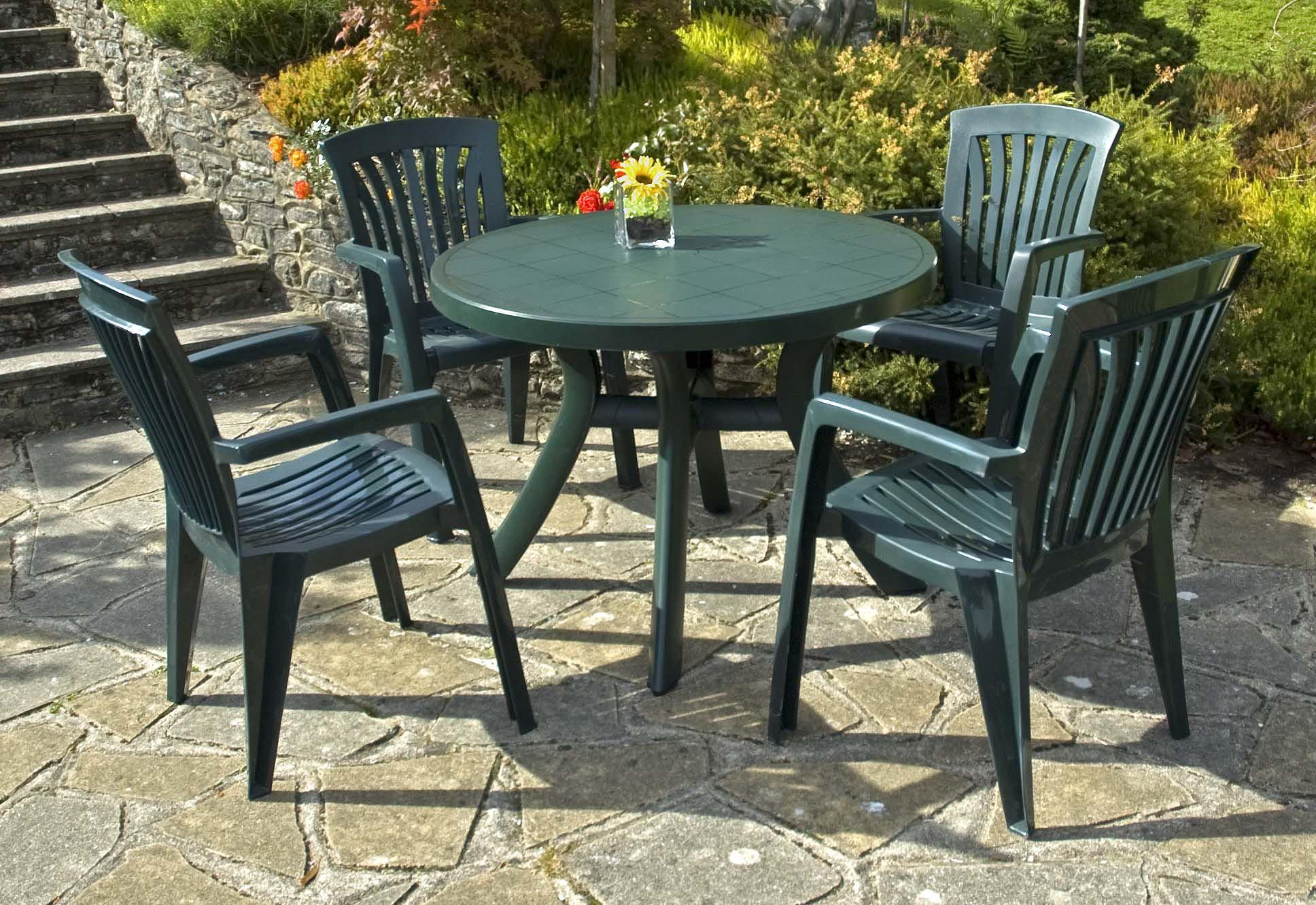 plastic garden furniture cheap in