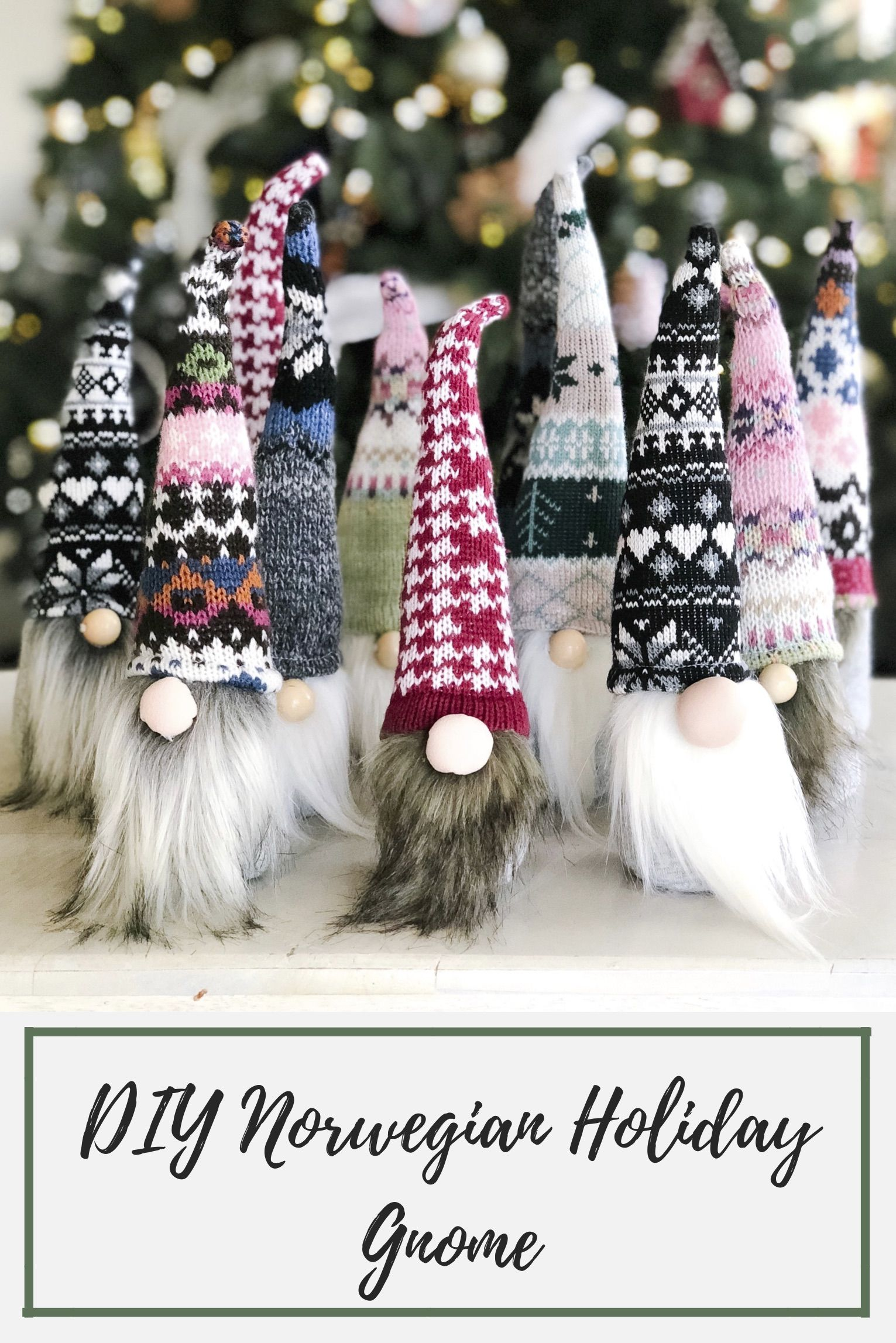 Diy Norwegian Holiday Gnomes Gnomes Crafts Christmas Crafts Xmas Crafts