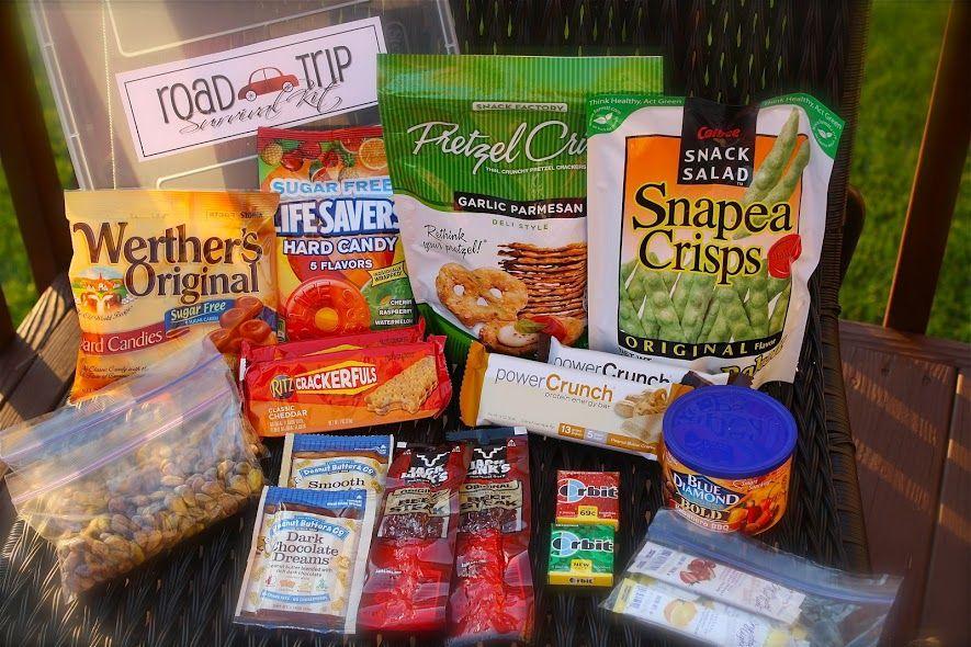 A road trip care packagegift road trip essentials