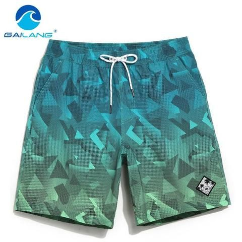 86243d9559 Gailang Brand Men's Beach Board Shorts Bermuda Mens Swimwear Swimsuits Boardshorts  Quick Dry Workout Cargo Boxer Trunks Shorts