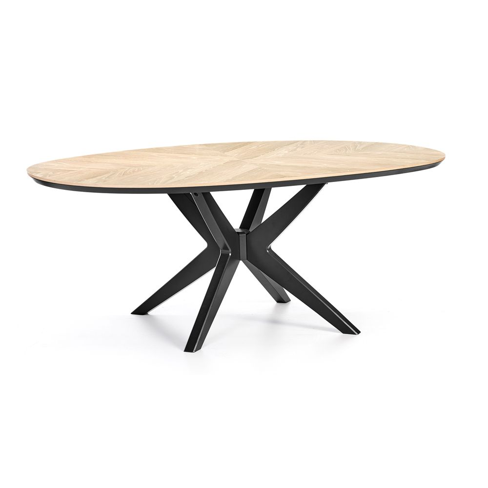 Contemporary Oval Dining Table Smartvradar Com