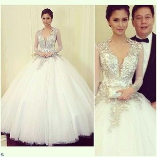 Kim Chui in Pepsi Herrera - Star Magic 2013 Ball | Couture ...