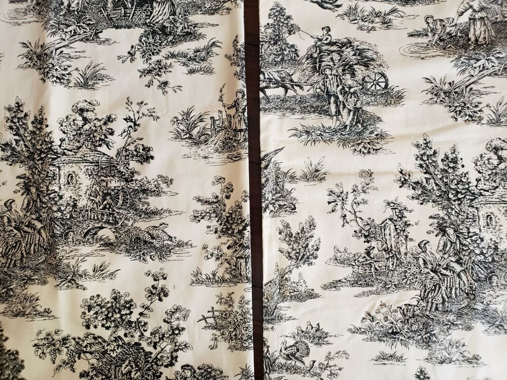 Image Detail For Waverly Country Life Toile Fabric Country Life Vintage Fabric Toile Fabric French Country Decorating French Fabric