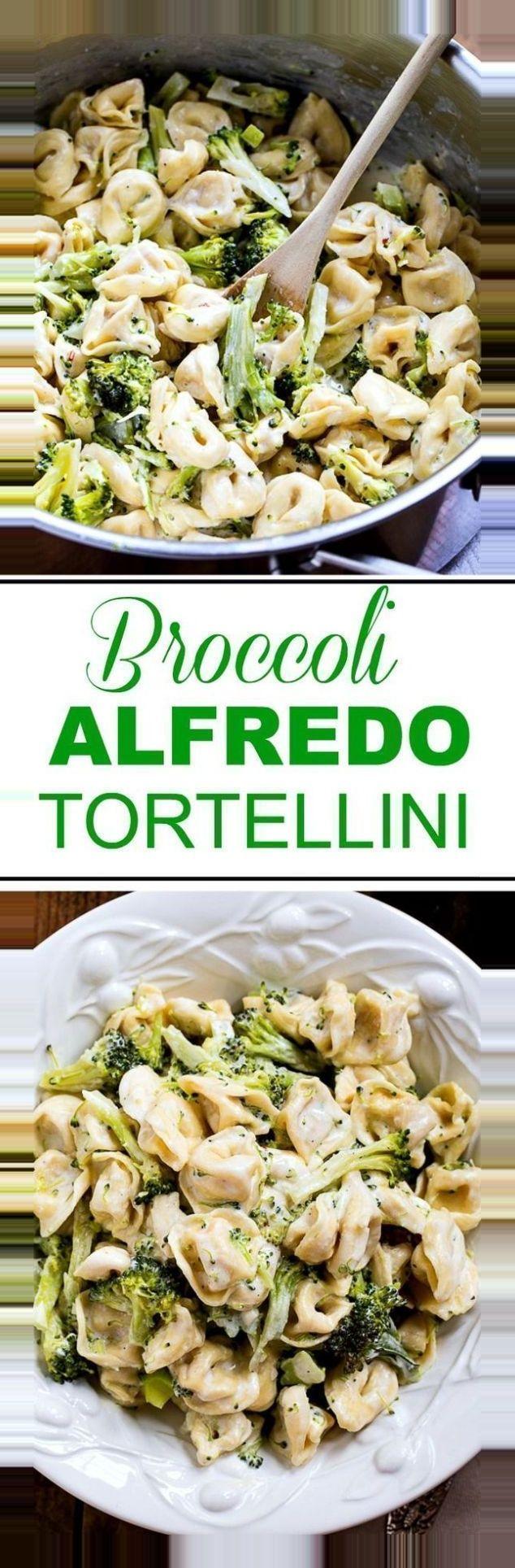, #alfredo #broccoli #Reisepaarziele #tortellini Broccoli Alfredo Tortellini Broccoli Alfredo Tortellini 30 Minute Meal Recipe via Spicy Southern Kitche…, Travel Couple, Travel Couple
