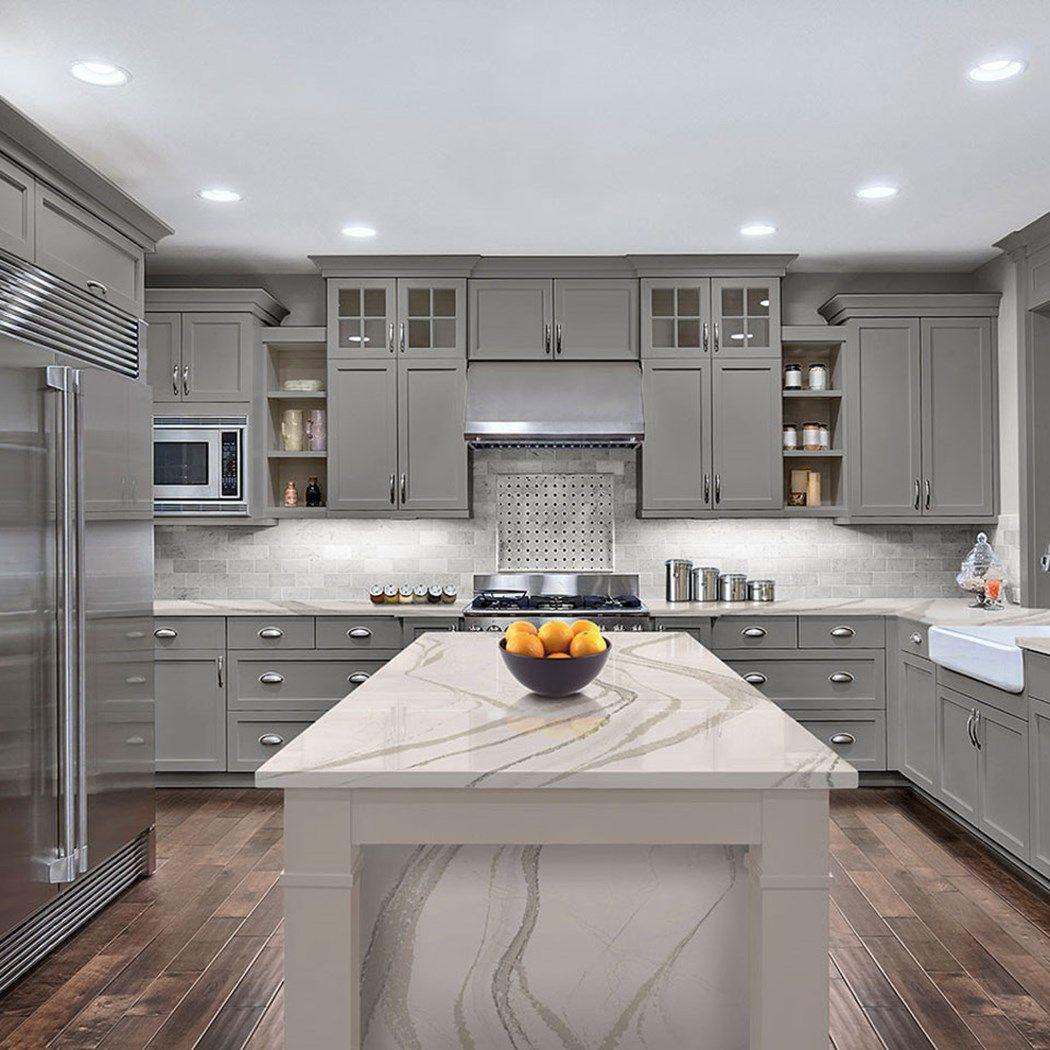 Stylish Quartz Countertop Seams Kitchen Remodel Countertops