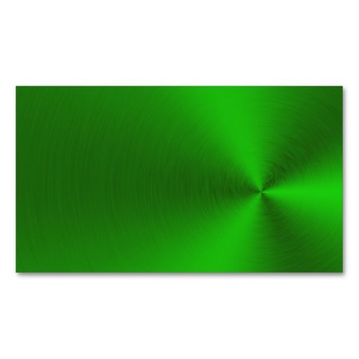 Brushed green metal business cards business card templates brushed green metal business cards reheart Image collections