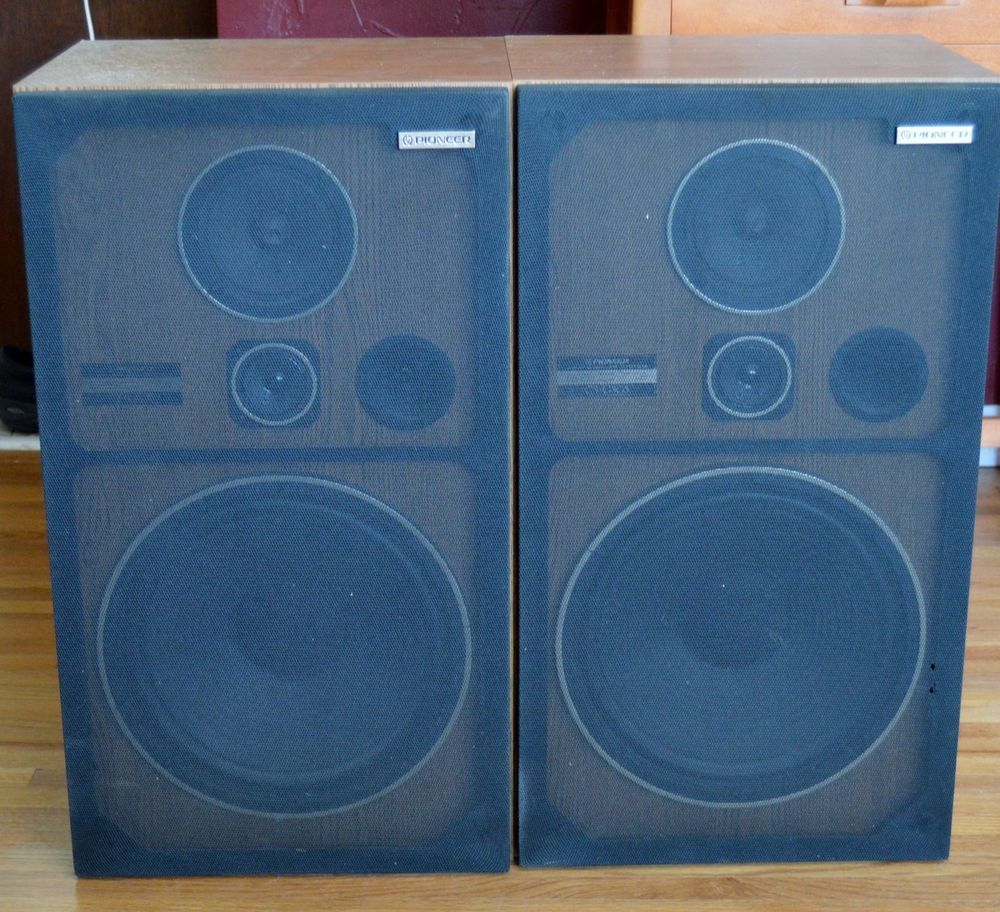 pioneer floor speakers cs. pioneer cs-g303 3-way home theater floor speakers pair 120 watts #pioneer cs