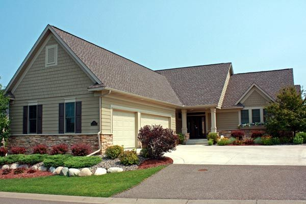 Elevation of Traditional   House Plan 42580