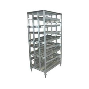 Winholt Cr 156f Gravity Fed Fifo 10 Can Dispensing Rack Extruded Aluminum Canning Hotel Supplies