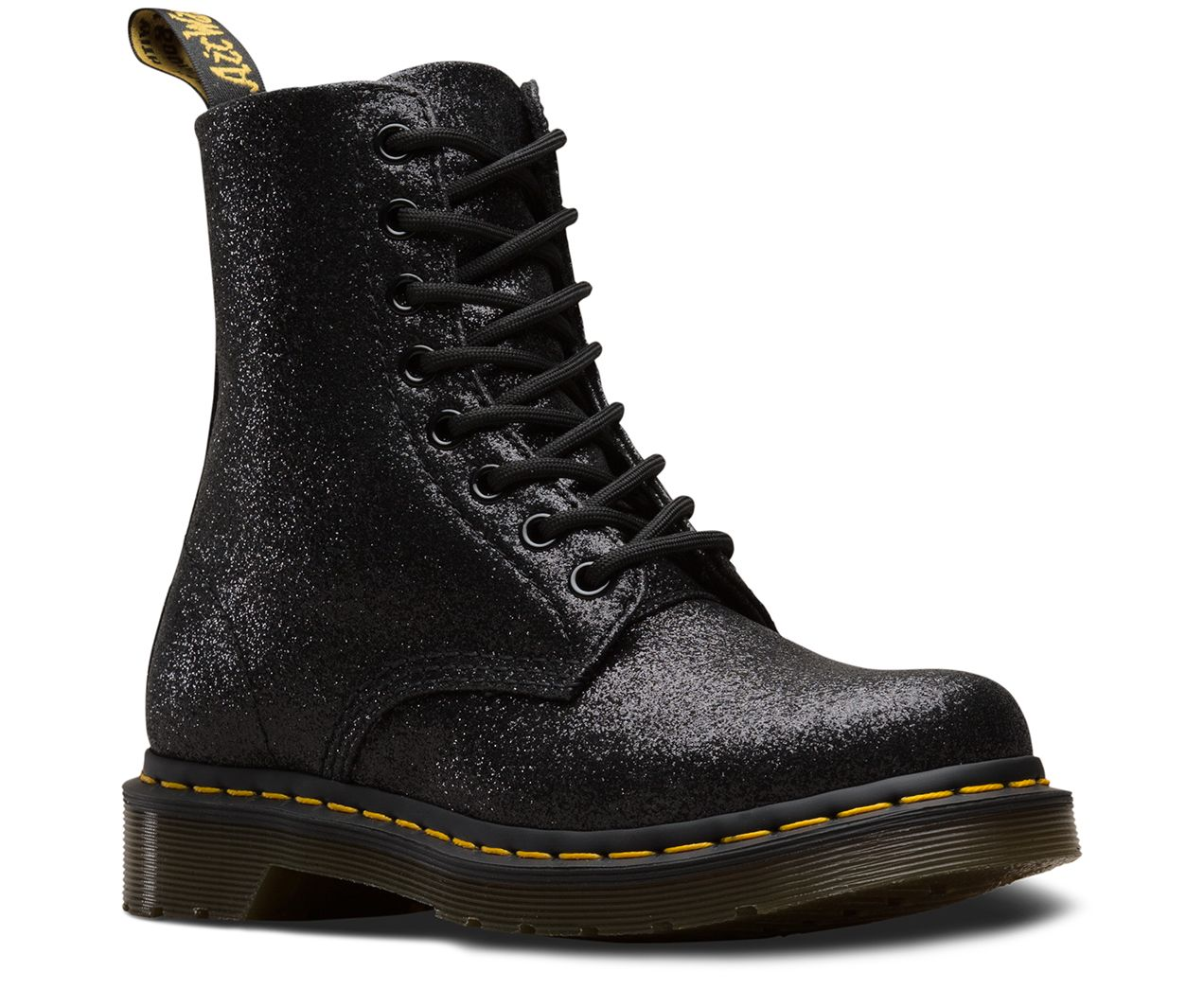 Dr martens 1460 pascal glitter in 2020   Boots, Dr martens