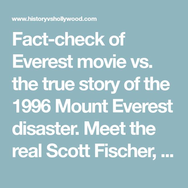Everest Movie Vs. True Story Of 1996 Mount Everest