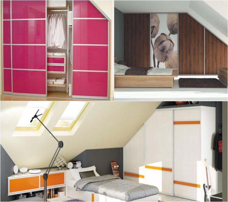 Schränke für Dachschräge \u2013 Ideen zur perfekten Planung Dekoration