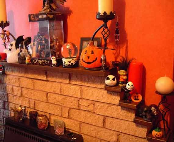 Spooky and Creepy Halloween Home Decoration Ideas with Scary Replica