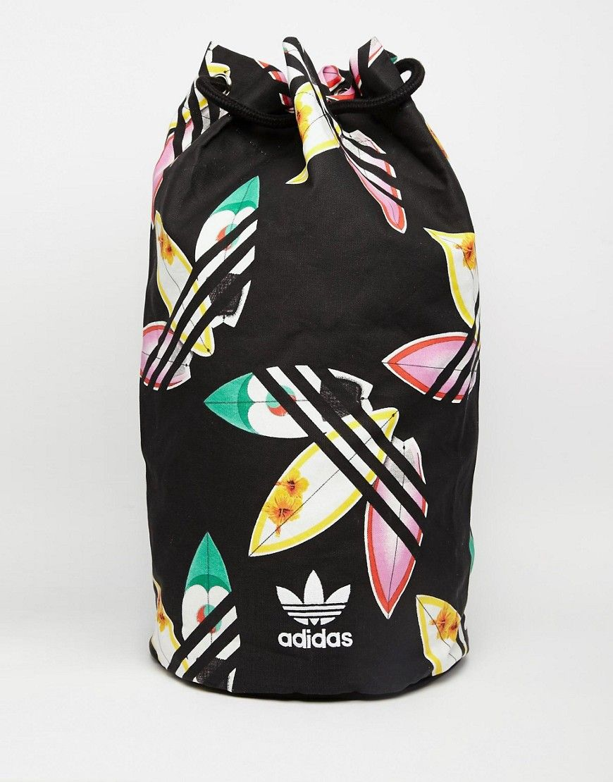 Image 1 of adidas Originals x Pharell Williams Duffle Backpack fbf39b5bf44bd
