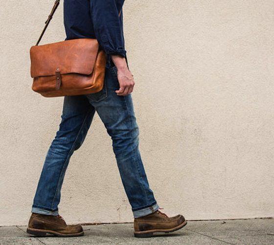 The Vintage Messenger Bag – $265