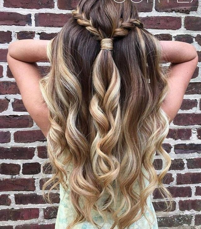 Beautiful Wedding Hairstyle For Long Hair Perfect For Any: Tutorial Videos Diy Lovely Hairstyle Hairdo Braid Gorgeous
