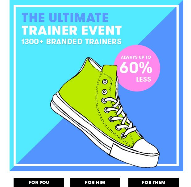 The ultimate trainer event - shop now