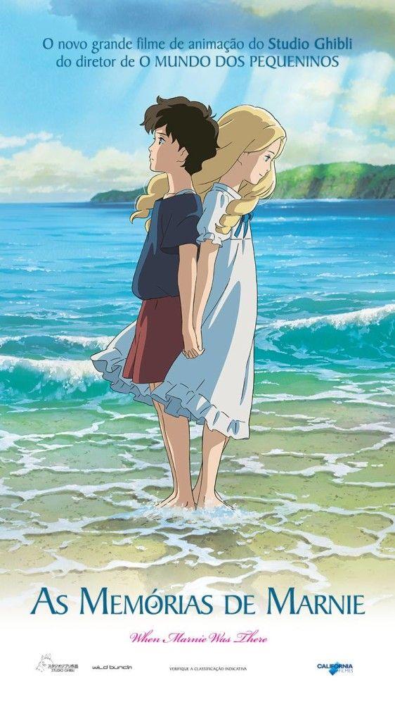 No Escurinho Critica As Memorias De Marnie As Memorias De Marnie Studio Ghibli Filmes De Animacao