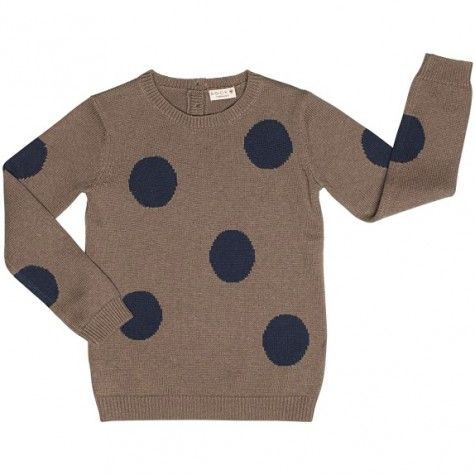 Bock sweater with dots
