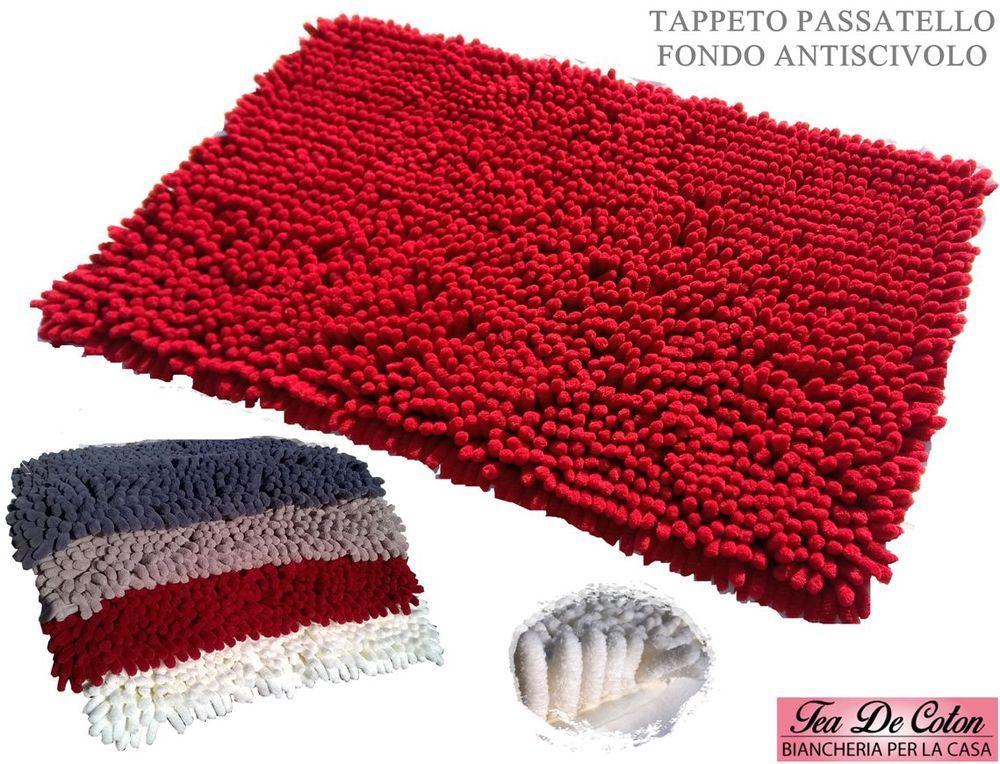 Tappetino da bagno antiscivolo da pezzi set tappetini da bagno