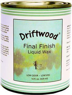 Driftwood Final Finish Liquid Wax – 16 oz. Pint