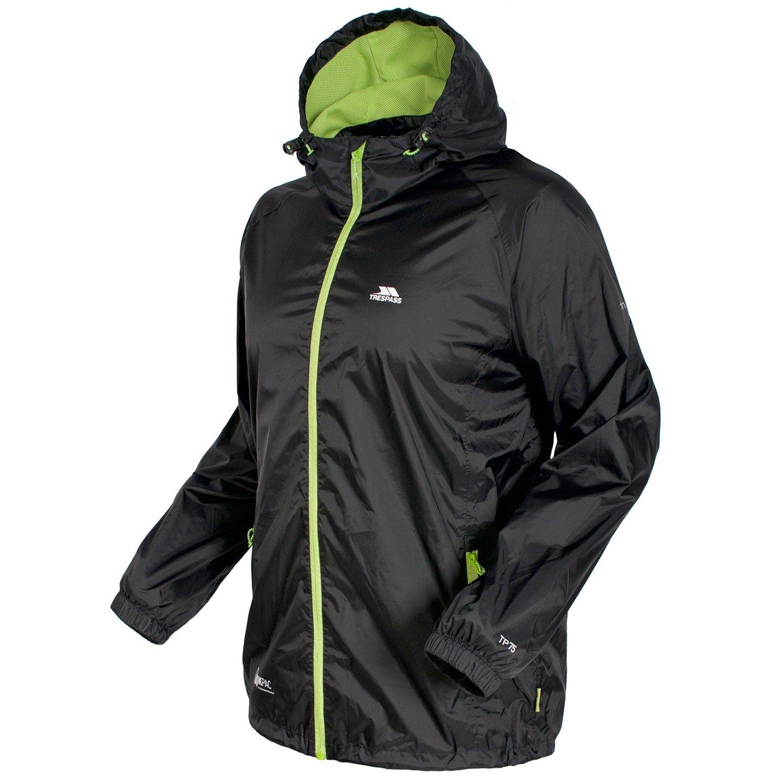 Trespass Qikpac Packaway Waterproof Jacket Mens Ladies Womens Lightweight Coat