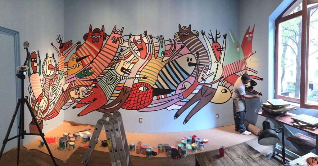 Cocolvú mural at Havre64 * Wonderwall * The Inner Interiorista