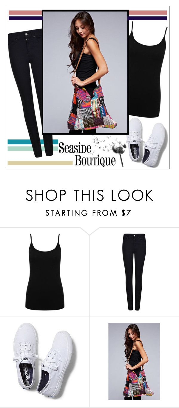 """Seaside Boutique"" by water-polo ❤ liked on Polyvore featuring M&Co, Giorgio Armani, Keds and seasideboutique"