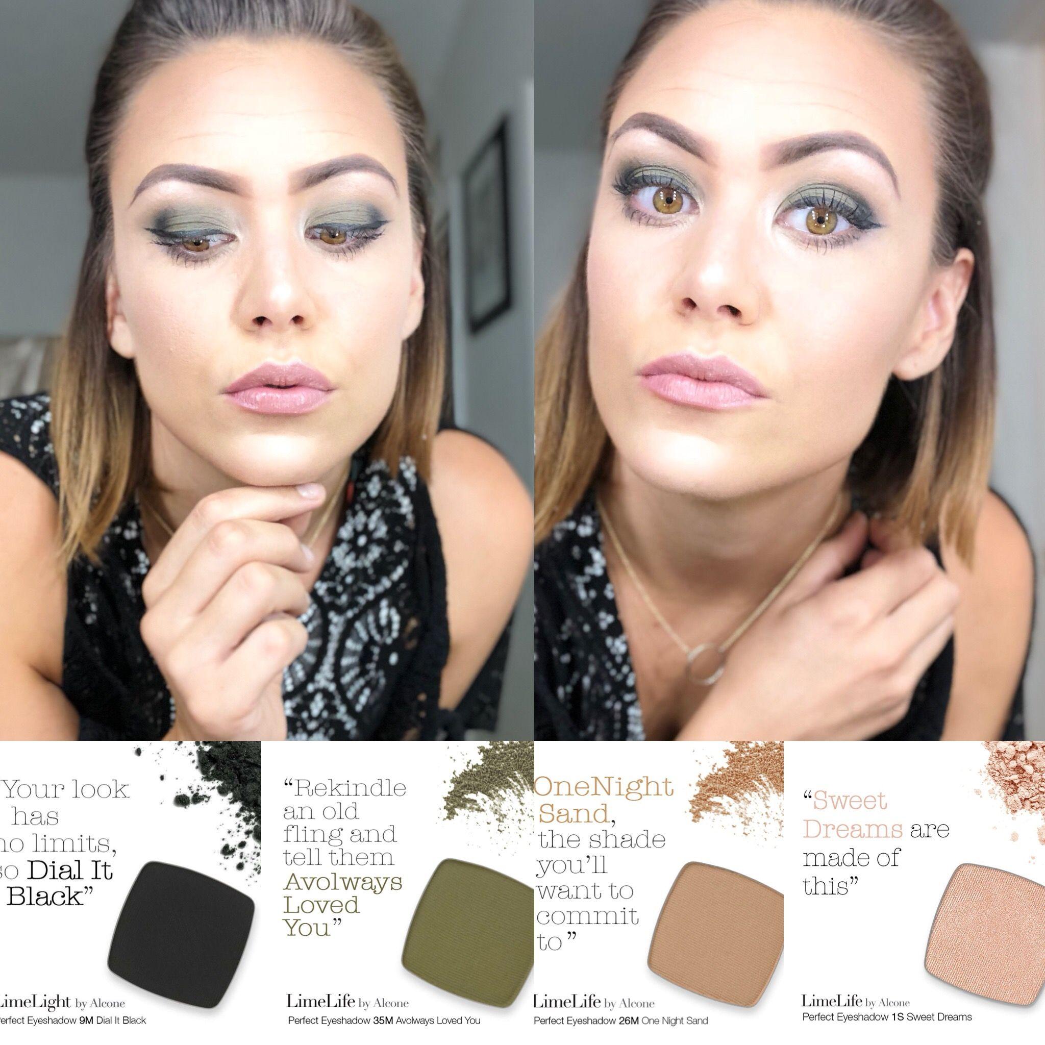 Olive Green Smokey Eyes Makeup Tips For Redheads Green Smokey Eye Powder Makeup