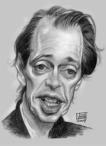 Caricaturist Homage Celebrity Caricatures Caricature Sketch Steve Buscemi