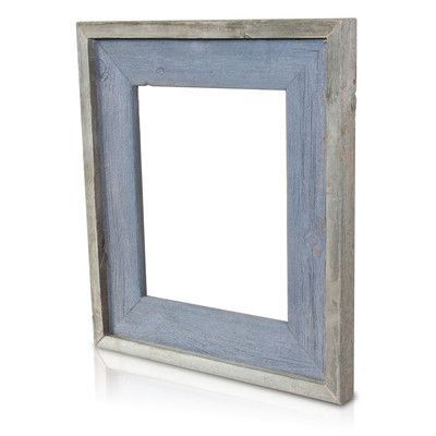 52b0b287ed2e Recherche Natural Reclaimed Picture Frame Color  Blue Sapphire