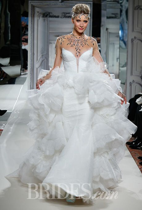 Pnina Tornai for Kleinfeld - 2014   Wedding, Runway and Wedding ...