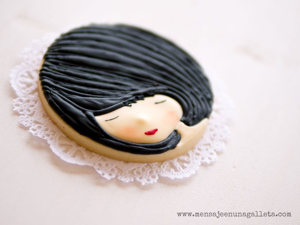 Cookie art : Our doll.