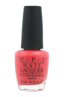 This is a professional quality nail polish and is very strong and durable. OPI Nail Polish works wonders on either natural fingernails or acrylic nails.'  #Salmon #NailPolish #OPI #Sale #NailLacquer #Nails