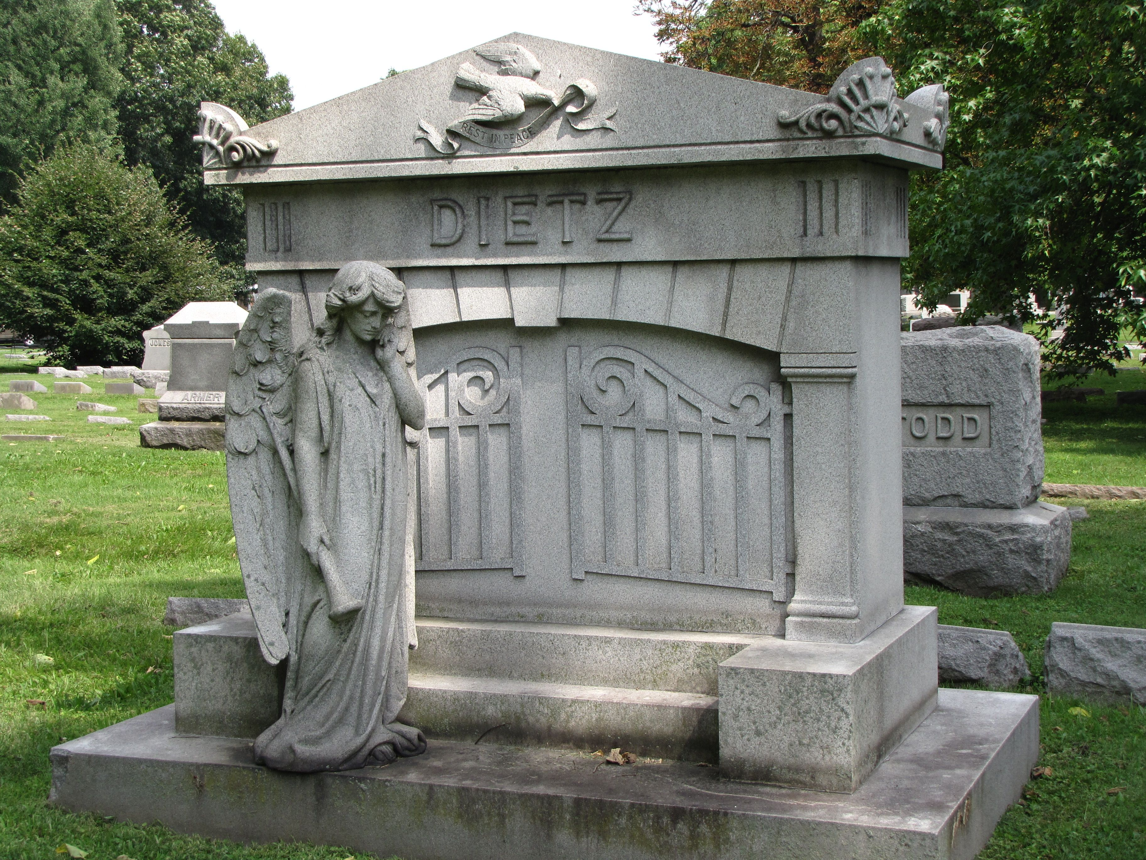 crown hill cemetery indianapolis - Google Search