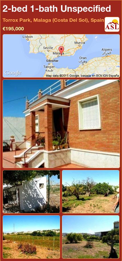 Unspecified for Sale in Torrox Park, Malaga (Costa Del Sol ...