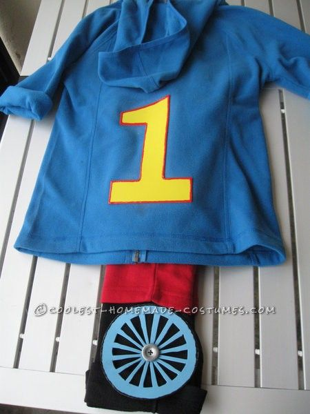 Easy Thomas The Tank Engine Toddler Costume Toddler Boy