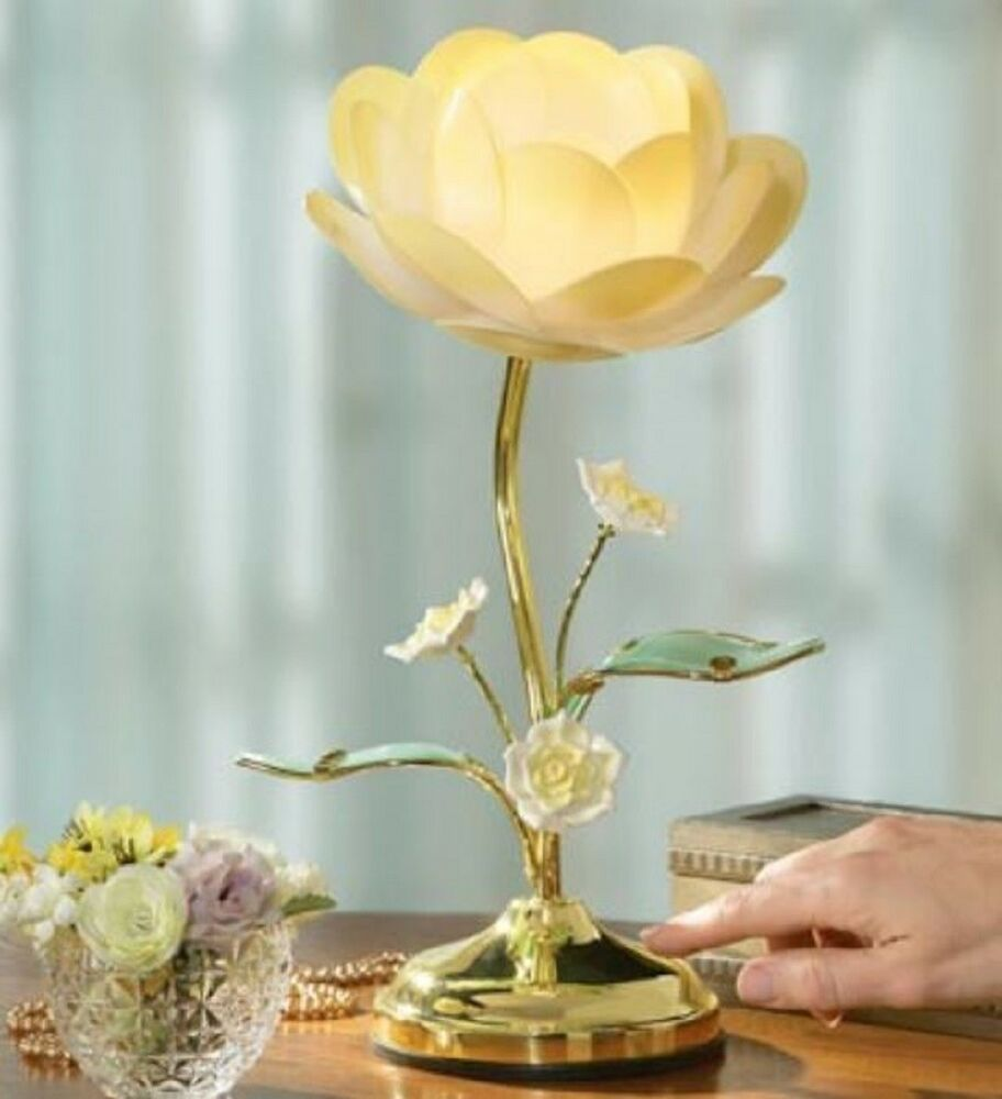 Lotus Touch Lamp 3 Way Table Light Traditional Living Room Furniture Home Deco Unbranded Contemporary Flower Lamp Touch Lamp Lotus Lamp