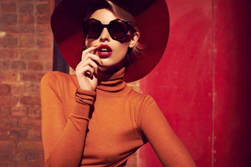 zan zan7 Jade Jackson Models Zanzan Eyewear A/W 2012